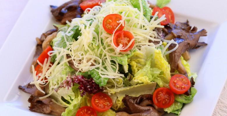 салат с вешенками рецепт с фото